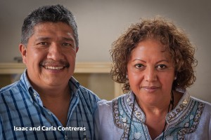 Isaac and Carla Contreras